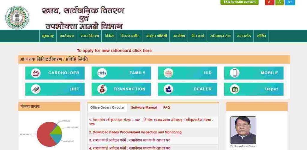 Aahar Jharkhand | Ration Card Jharkhand